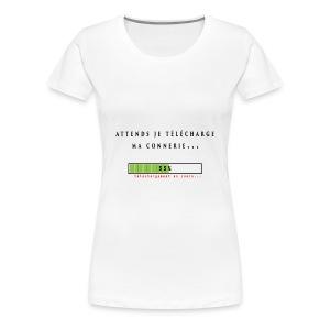 vetement telechargement - T-shirt Premium Femme