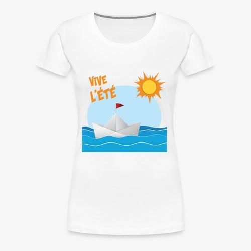 Vive l'été - T-shirt Premium Femme