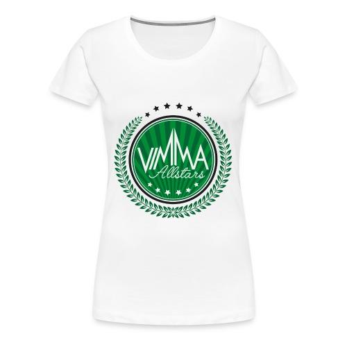 Vimma t-paita, naisten - Naisten premium t-paita