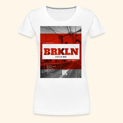 BRKLN - T-shirt Premium Femme