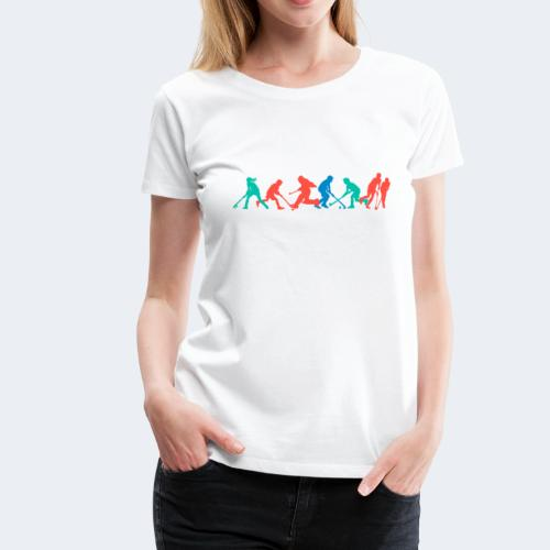Hockey Kids Frühling - Frauen Premium T-Shirt