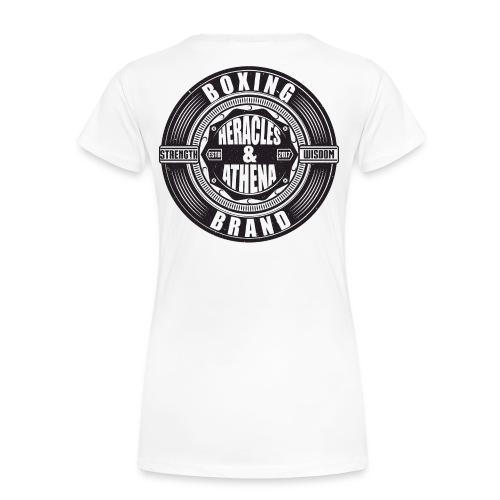 Heracles and Athena Emblem - Frauen Premium T-Shirt