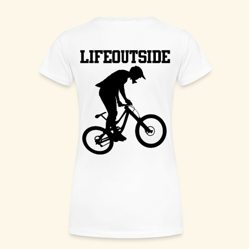 Mountainbike - Frauen Premium T-Shirt