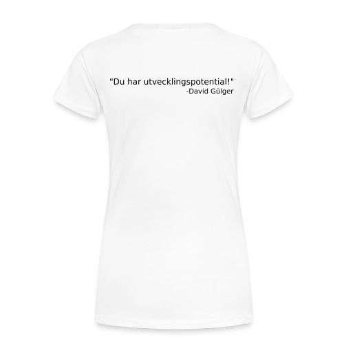 Ju jutsu kai förslag 1 version 1 svart text - Premium-T-shirt dam