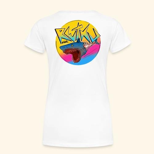 RetkuOriginals - GreatWhite - Naisten premium t-paita