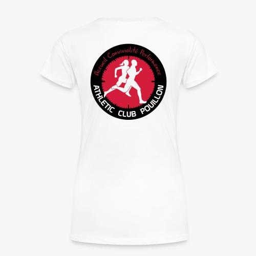 AC POUILLON - T-shirt Premium Femme