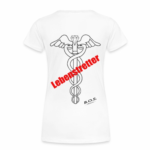 Lebensretter - Frauen Premium T-Shirt