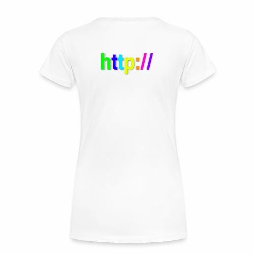 T-SHIRT Potocollo HTTP - Maglietta Premium da donna