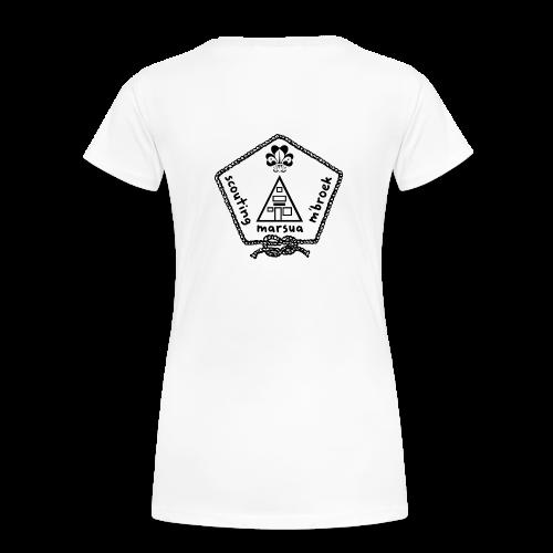 Marsua Zwart - Vrouwen Premium T-shirt