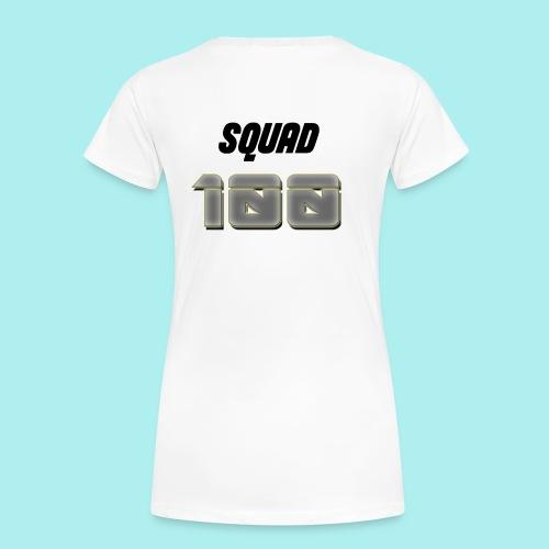 METTALIC 100 SUBSCRIBERS - Women's Premium T-Shirt