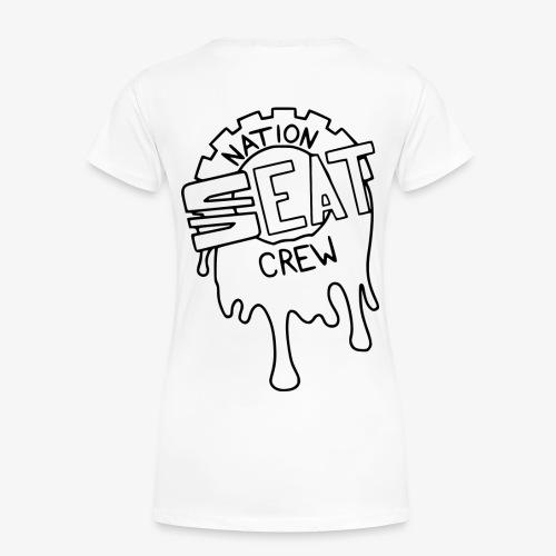 Seatnationcrew Logo schwarz - Frauen Premium T-Shirt