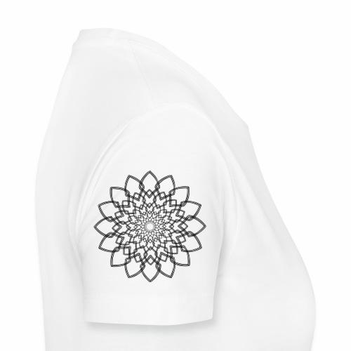 Abstrakte Blume - Frauen Premium T-Shirt