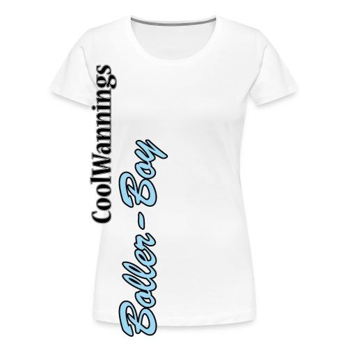 boller boy schrift - Frauen Premium T-Shirt