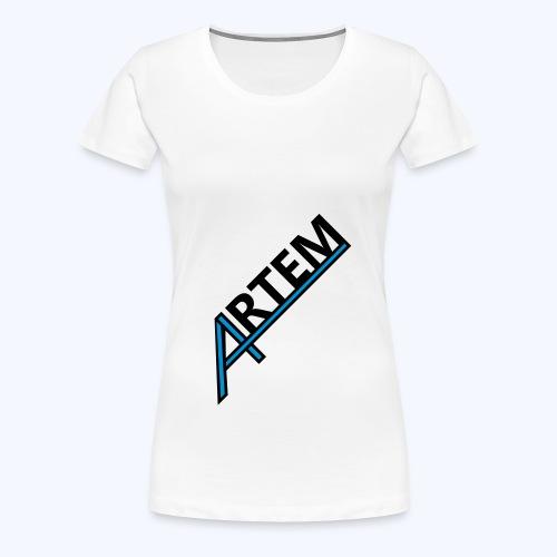 Artemlogo - Frauen Premium T-Shirt