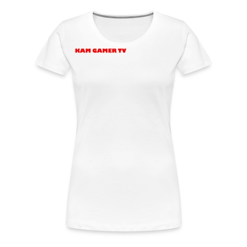 Kam Gamer Tv 9MN95B1X Range - Women's Premium T-Shirt