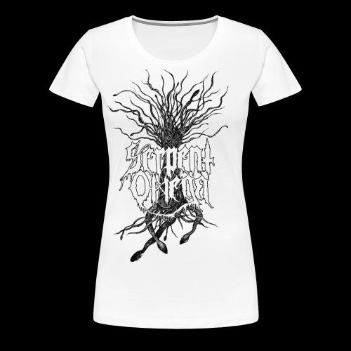 Serpent Omega- Ormträd - Premium-T-shirt dam