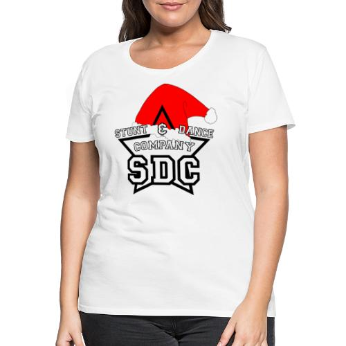 SDC Logo Black Christmas - Frauen Premium T-Shirt