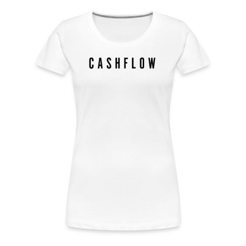 CashFlow version noir - T-shirt Premium Femme