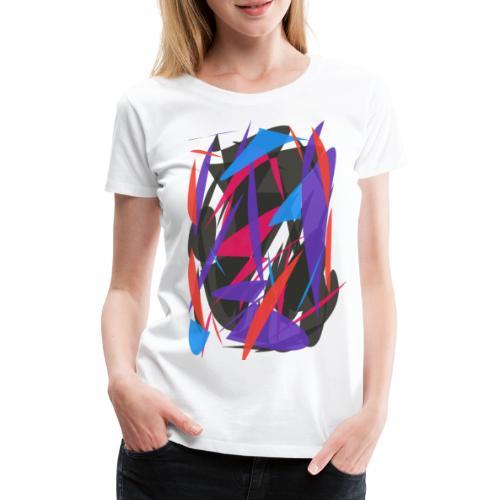 ABSTRAIT FORMES COLORS - T-shirt Premium Femme