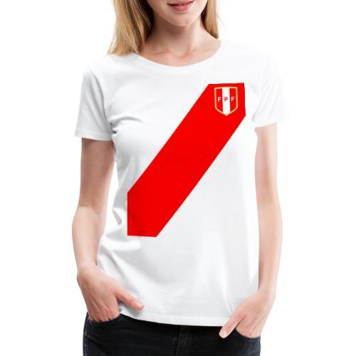 Seleccion peruana de futbol (Recto-verso) - T-shirt Premium Femme
