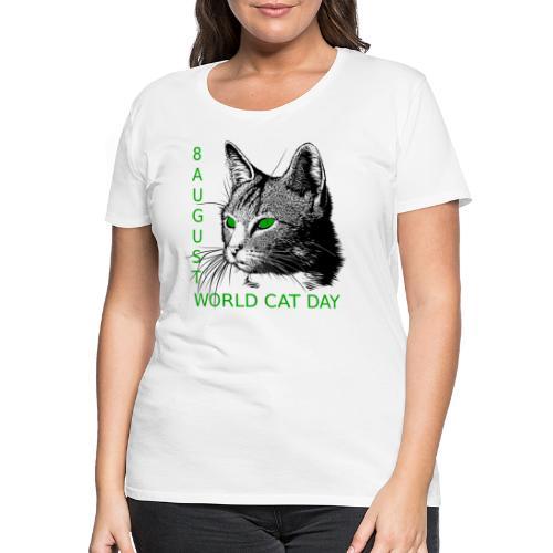 Gatto, 8 agosto la sua giornata mondiale - Maglietta Premium da donna