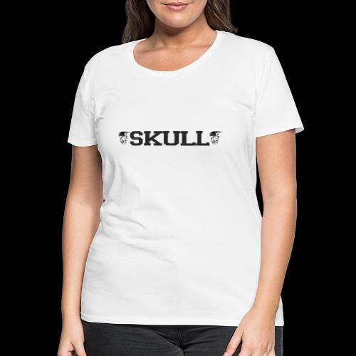 bande logo skull - T-shirt Premium Femme