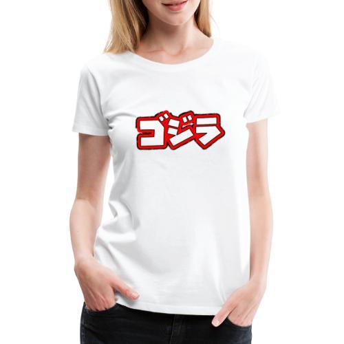 Comic Kanji´s - Frauen Premium T-Shirt