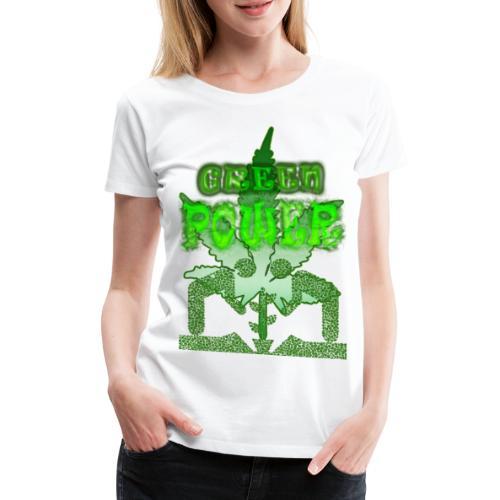 Green Power - T-shirt Premium Femme