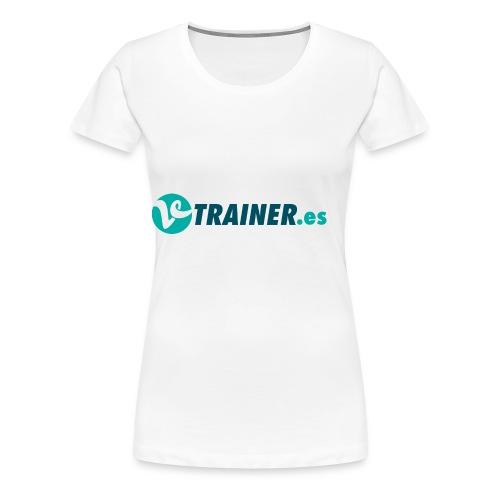 VTRAINER.es - Camiseta premium mujer
