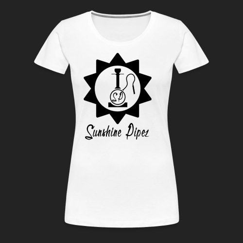 Sunshine Pipez - Logo (Black) - Women's Premium T-Shirt