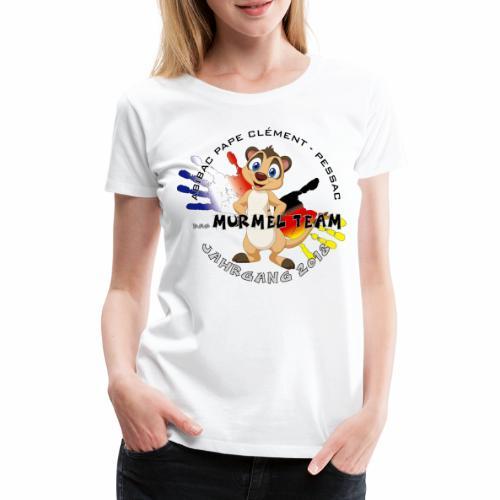 Abibac 2018 - das Murmel - T-shirt Premium Femme