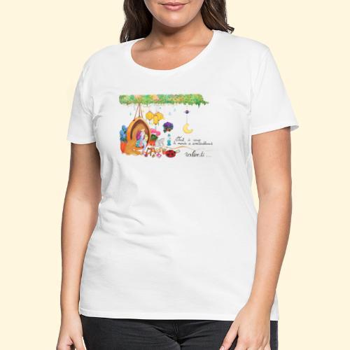Tout à coup, le temps a considérablement ralenti - T-shirt Premium Femme