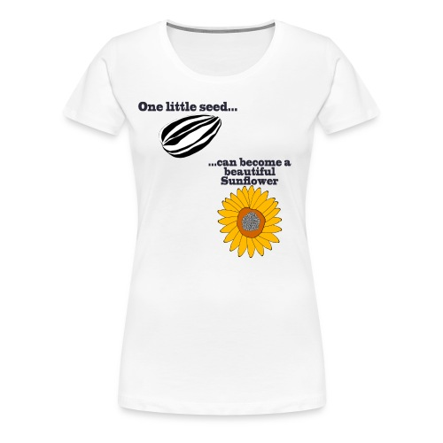 One little seed - Women's Premium T-Shirt