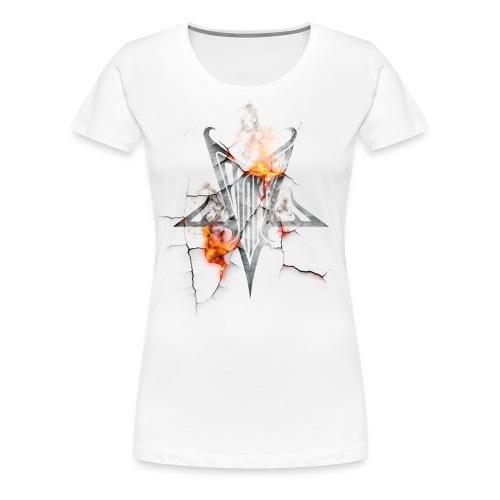 Fire - Premium-T-shirt dam