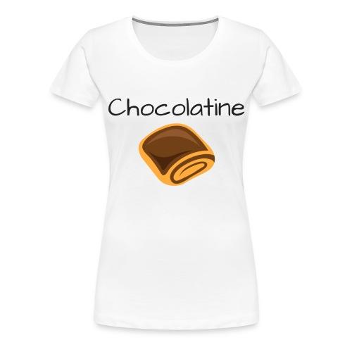 Chocolatine - T-shirt Premium Femme