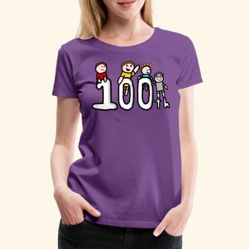 100th Video - Women's Premium T-Shirt