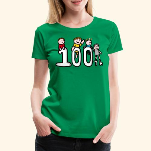 100th Video - Women's Premium T-Shirt