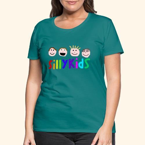 Sillykids Logo - Women's Premium T-Shirt
