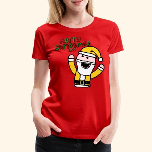 Santa Kid (Christmas 2019) - Women's Premium T-Shirt