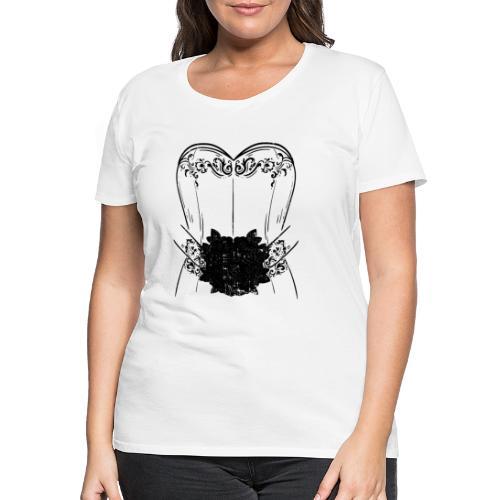 Braut Bride Hochzeit Junggesellin Polterabend Ehe - Frauen Premium T-Shirt