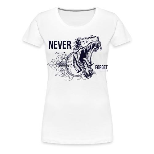Vintage Dino - Frauen Premium T-Shirt