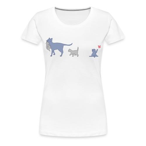Cats - Maglietta Premium da donna