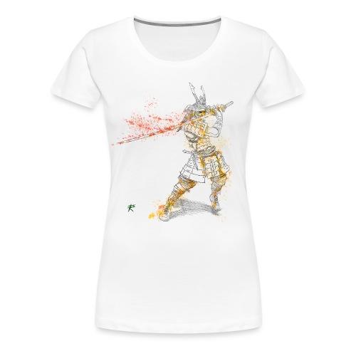 Samurai color - Maglietta Premium da donna