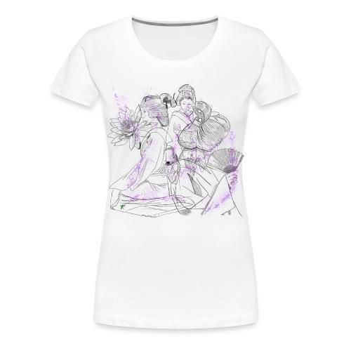 Geisha color - Maglietta Premium da donna