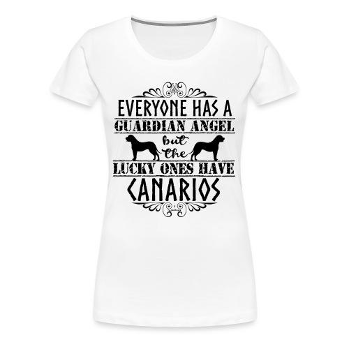 Canario Angels II - Naisten premium t-paita
