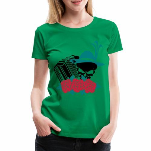 Rock Harmonika - Frauen Premium T-Shirt