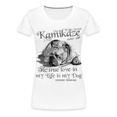 My Dog - Frauen Premium T-Shirt