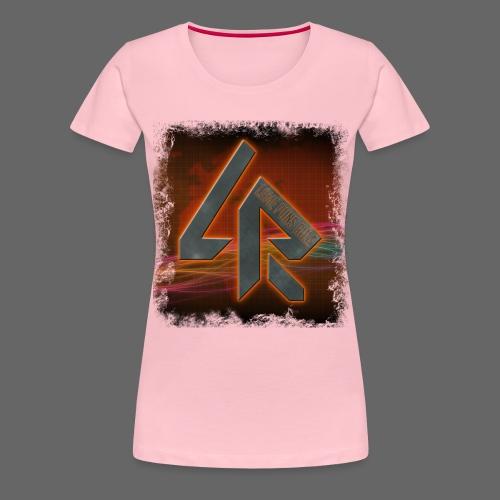 LPR Gaming BG Splash (Women) - Women's Premium T-Shirt