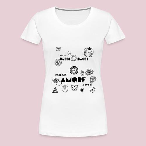 Mucbook Amore Katharina Konte - Frauen Premium T-Shirt
