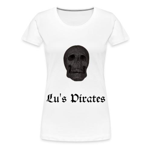 Totenkopf Logo - Frauen Premium T-Shirt